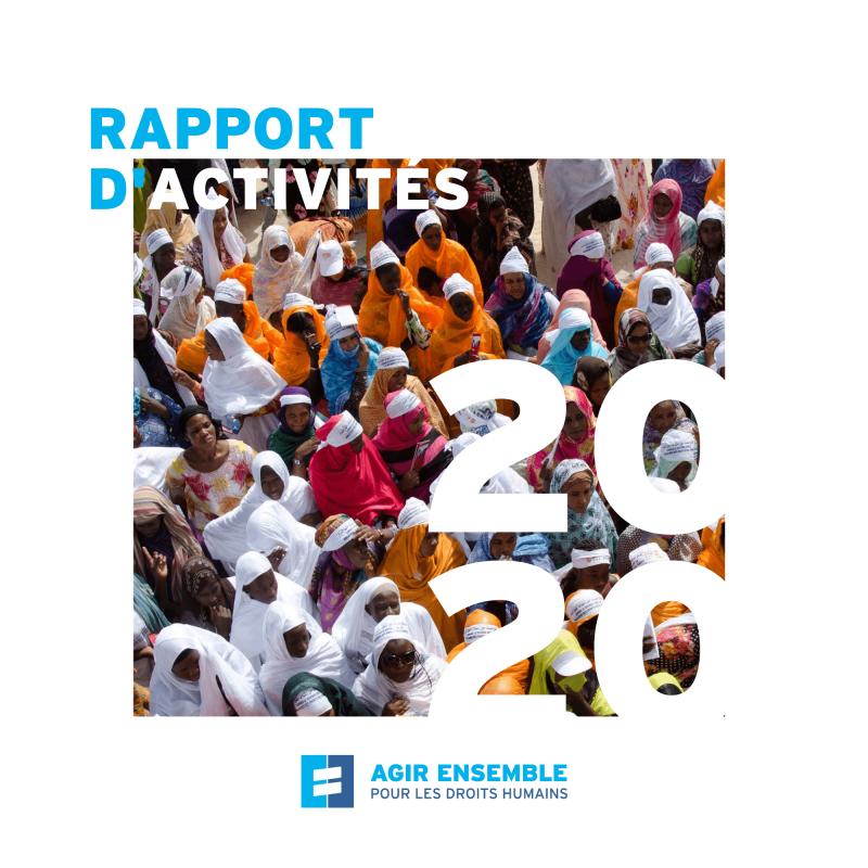 RAPPORT D'ACTIVITES 2020